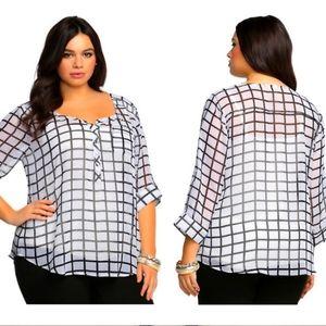 🌴🌺Torrid blouse